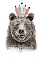 Festival Bear Fine-Art Print