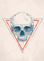 Skull in Triangle No. 2 Fine-Art Print