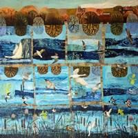Blue Island Fine-Art Print