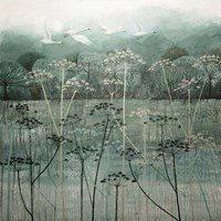 Swans Flying High Fine-Art Print