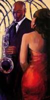 Sax Seduction Fine-Art Print