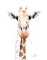 Giraffe Watercolor Fine-Art Print