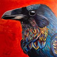 Glistening Raven Fine-Art Print