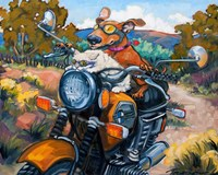 Have Dog Will Travel Fine-Art Print