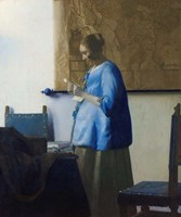 Woman Reading a Letter Fine-Art Print