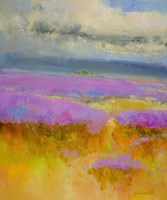 Field of Lavenders 1 Fine-Art Print