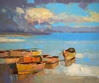 Fishing Boats Fine-Art Print