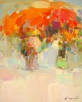 Vase of Yellow Flowers 1 Fine-Art Print