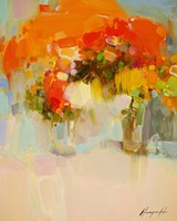 Vase of Yellow Flowers 2 Fine-Art Print