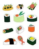 Sushi Set Fine-Art Print