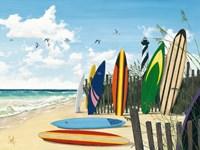 Surf Boards Fine-Art Print