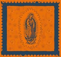 Orange and Blue Mary Fine-Art Print