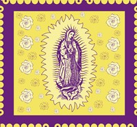 Purple Mary Fine-Art Print