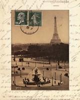 Paris En Flanant Fine-Art Print