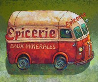 Van Ordinaire Epicerie Fine-Art Print
