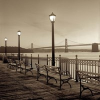 San Francisco Bay Bridge at Dusk Fine-Art Print