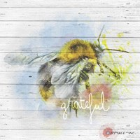 Bee Grateful Fine-Art Print