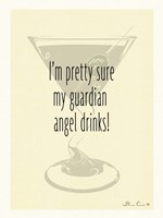 Guardian Angel Drinks Fine-Art Print