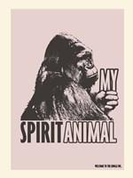 Spirit Animal Gorilla Fine-Art Print