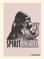 Spirit Animal Gorilla Fine-Art Print