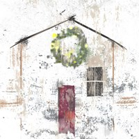 Christmas House Fine-Art Print