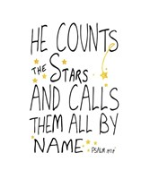 He Counts His Stars Fine-Art Print