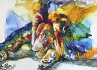 Lion Around Fine-Art Print