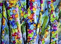 Birches with Bling Fine-Art Print