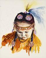 First Nations Powwow Princess Fine-Art Print
