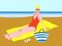 Beachy Keen II Fine-Art Print