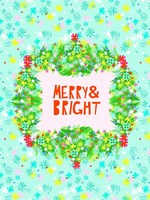 Merry & Bright II Fine-Art Print