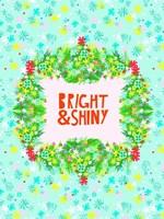 Merry & Bright V Fine-Art Print