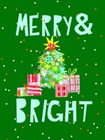 Merry & Bright VI Fine-Art Print