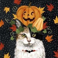 Halloween Cat II Fine-Art Print