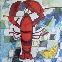 Brilliant Maine Lobster IV Fine-Art Print