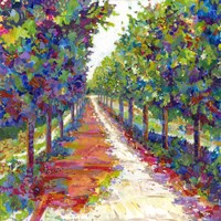 Lime Walk Fine-Art Print