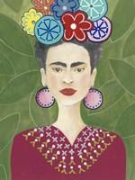 Frida Floral II Fine-Art Print