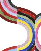 Deconstructed Rainbow I Fine-Art Print