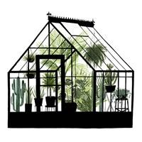 Glass House I Fine-Art Print