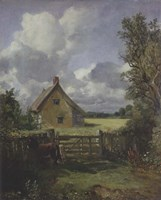 Cottage in a Cornfield, 1833 Fine-Art Print