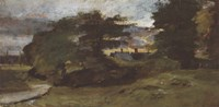 Landscape with Cottages Fine-Art Print