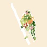 Foliage & Feathers III Fine-Art Print