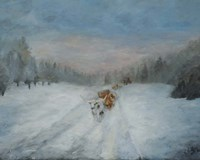 Journey Through the Snow IV Fine-Art Print