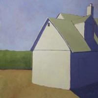 Primary Barns III Fine-Art Print