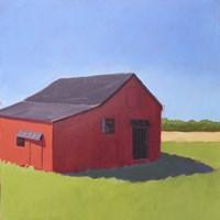 Primary Barns V Fine-Art Print