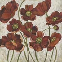 Sangria Poppies II Fine-Art Print