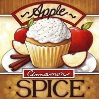 Cupcake Apple Cinnamon  Spice Fine-Art Print