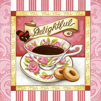 Tea Delightful Pink Teacup Fine-Art Print