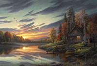 Lakeside Memories Fine-Art Print