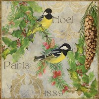 Christmas Birds I Fine-Art Print
